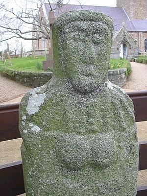 La Gran'mère du Chimquière, Statue menhir, St ...