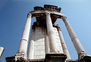 Temple Of Vesta ~ Rome