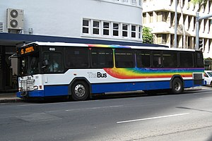 Photograph of a TheBus 40' Gillig Phantom bus ...