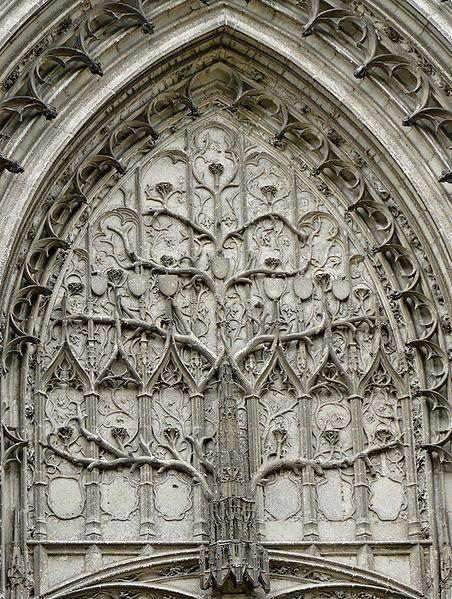 drzewo Jozuego, katedra w Beauvais