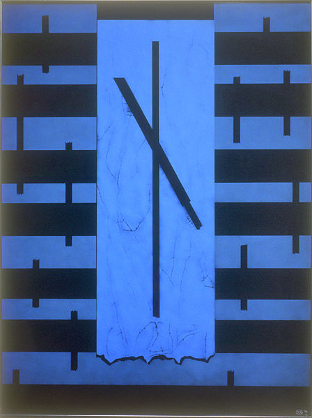 """File:""""Stations of the Cross I, Christ Condemned"""" (1995), Saint Mary's College of California, Moraga, CA.jpg"""