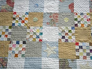 lots of quilting.