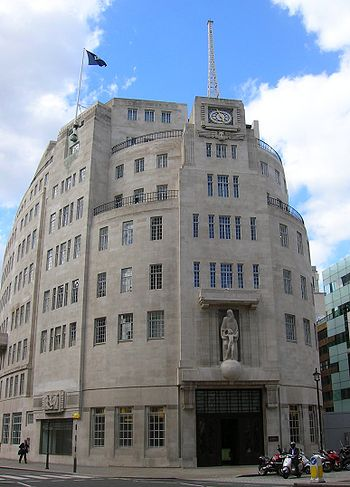 BBC Broadcasting House, Portland Place at the ...