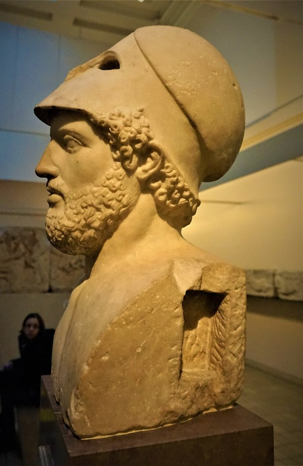 Bust of Pericles - British Museum - Joy of Museums
