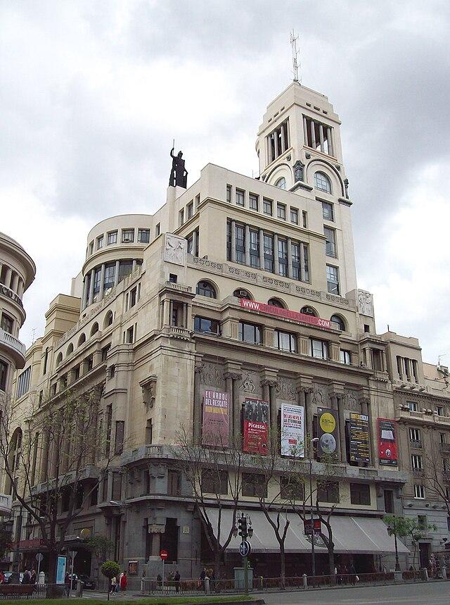 Edificio del Centro de Bellas Artes