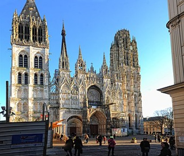 West Facade Rouen Cathedral