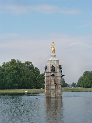 Diana Fountain, Bushy Park, England