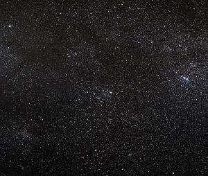 English: The Milky Way galaxy in direction of ...