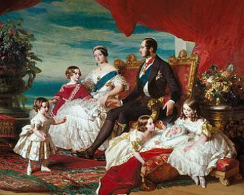 Queen Victoria's family in 1846 by Franz Xaver...
