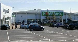 English: Homebase, Avenue Retail Park, Cardiff...