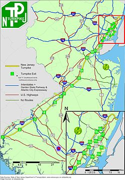 Image result for new jersey turnpike