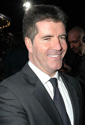 Simon Cowell at the National Television Awards...