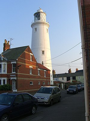 The Lighthouse at Southwold, Suffolk, England