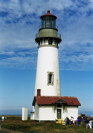 English: Yaquina Head Lighthouse, Oregon Taken...