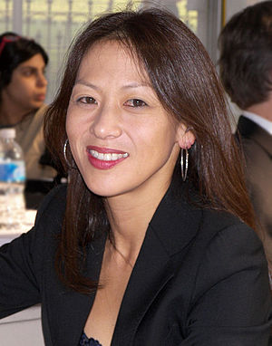 Amy Chua at the 2007 Texas Book Festival, Aust...