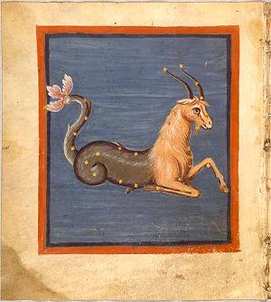 Fol. 50v Capricornus