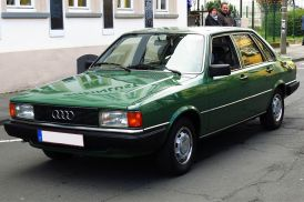 Bildergebnis für grüner Audi 100
