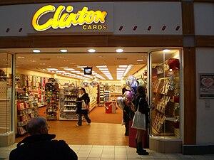 Español: Card Shop. The 3rd biggest in England
