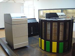 A Cray-2 supercomputer at the Musée des Arts e...