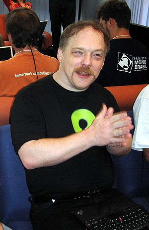 Eric S. Raymond, taken on 3-June-2005 at FISL ...