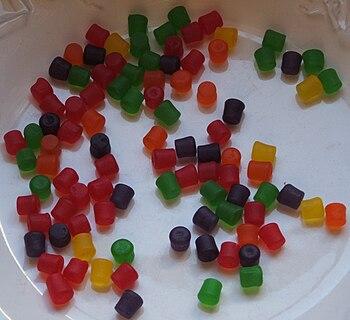 English: Jujubes candy