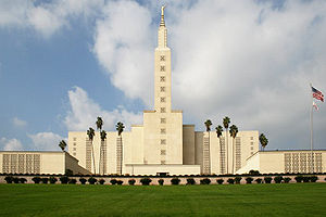 The Los Angeles Temple of The Church of Jesus ...