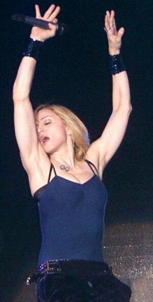 Madonna on the festival in Coachella in 2006 E...