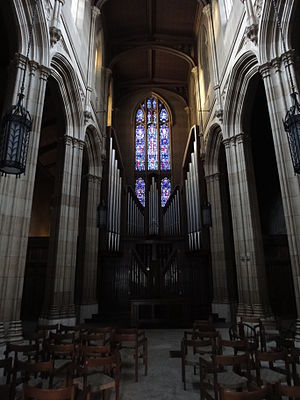 English: Memorial Chapel on Yale University's ...