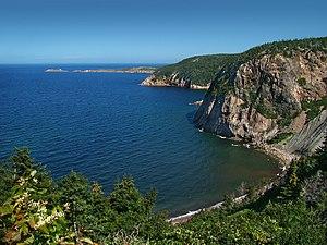 English: Smelt Brook, Cape Breton Island, Nova...