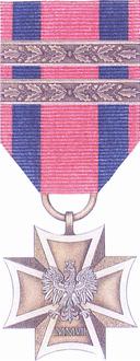 POL Krzyz Wojskowy 2x awers