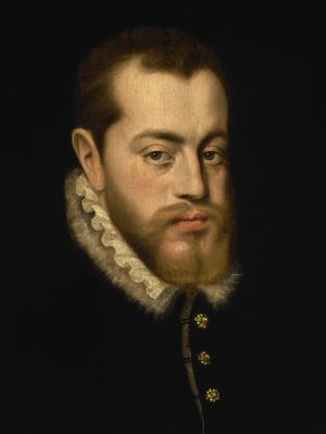 Philip II of Spain.