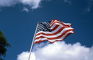 USA Flag, Miami FL 1992