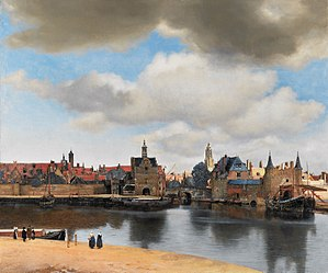 Resultado de imagen para Vista de Delft