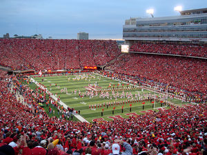 Memorial Stadium in Lincoln, Nebraska: home of...