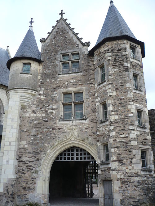 Chatelet chateau angers