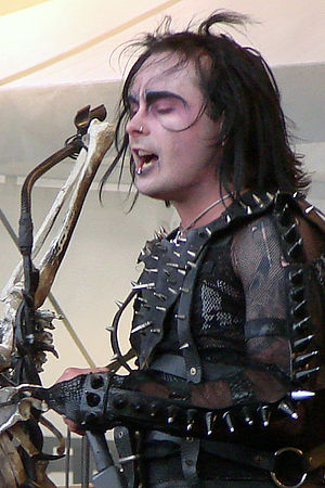 Français : Cradle of Filth au Hellfest 2009: D...