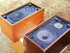 Rebuilt and refinished set of vintage Magnavox...
