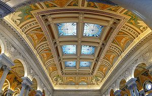 Great Hall, Library of Congress, Washington DC