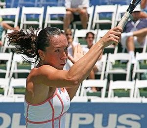 Jelena Jankovic at the 2007 Acura Classic.