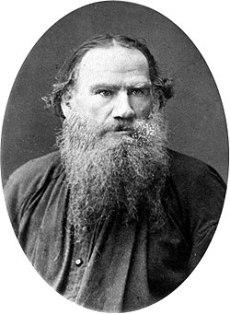 Ο Λέων Τολστόι, Ρώσος συγγραφέας.