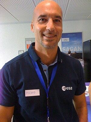 English: ESA Astronaute Candidate Luca Parmita...