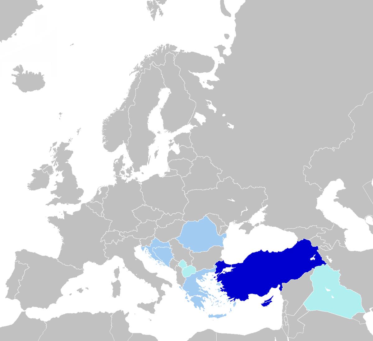 اللغة التركية ويكيبيديا