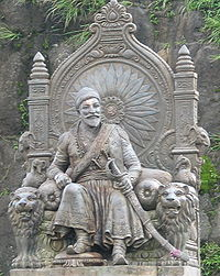Chhatrapati Shivaji Raje Bhosle (statue at Raigad)