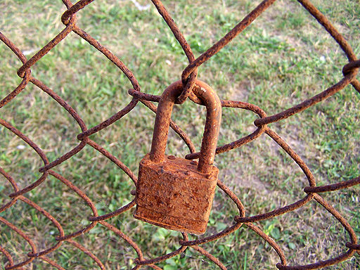 Rusty and Crusty Padlock