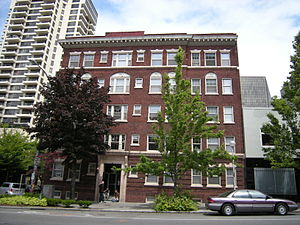 Castle Apartments, 2132 2nd Avenue, Belltown, ...