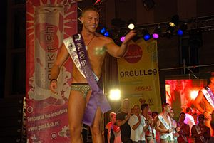 Español: Mr. Gay Europe 2009