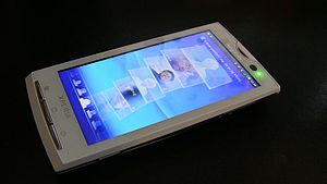English: Sony Ericsson Xperia X10