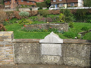 St Edith's Well, Kemsing On junction of St Edi...