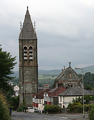 Tavistock Roman Catholic Church. This church w...
