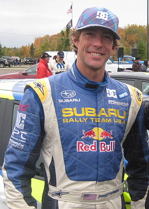 English: Travis Pastrana during public appeara...